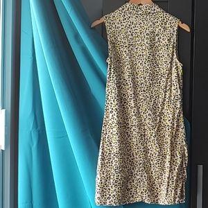 Equipment Dresses - Equipment Lucida Silk Leopard Print Dress